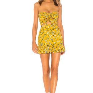 Tularosa yellow dress